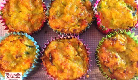 Mini muffin alla quinoa