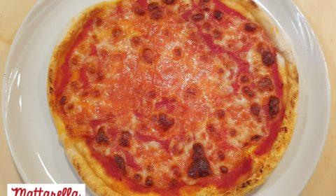 Pizza rustica di grano saraceno bianco